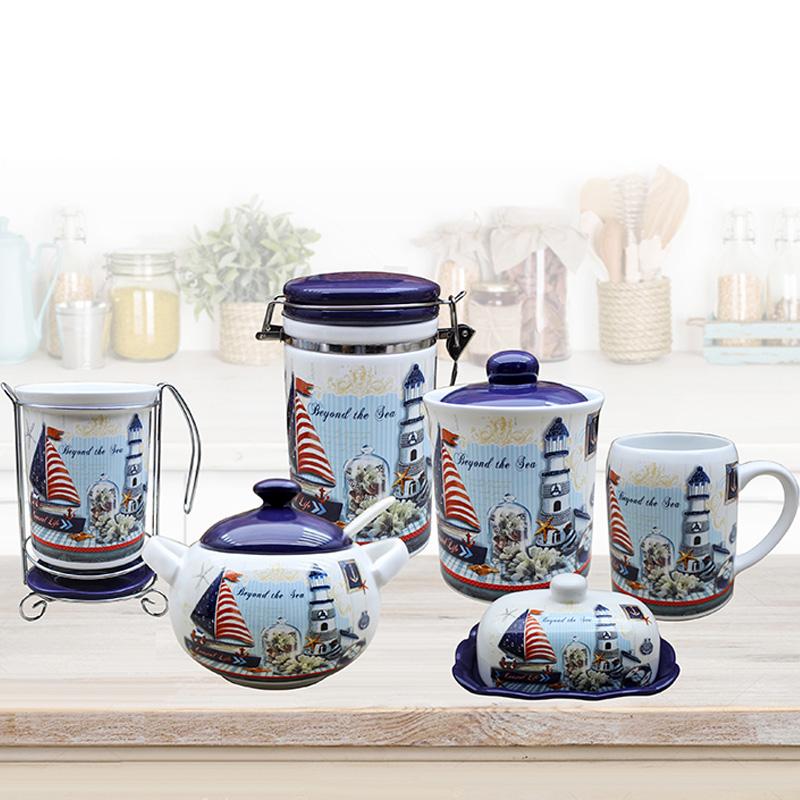 Cearmic dolomite set ceramic kitchenware N67