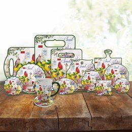 Ceramic tableware ceramic coasters set