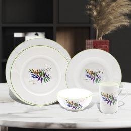 Ceramic kitchenware new bone China ceramicwares set