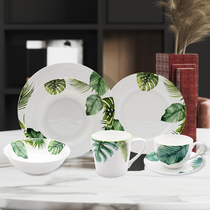 New bone China dinnerware set 5 pcs
